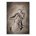 Americanflat The Cellist Dark Art Print