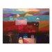 Americanflat Atlas Kasbahs Art Print Wrapped on Canvas