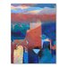 Americanflat Atlas Snow Art Print Wrapped on Canvas