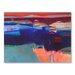 Americanflat Blue Swathe Art Print