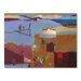 Americanflat Cypresses in the Atlas Foothills Art Print Wrapped on Canvas