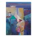 Americanflat Moroccan Garden Art Print Wrapped on Canvas