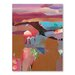 Americanflat Plateau Art Print Wrapped on Canvas