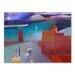 Americanflat Shafts of Atlas Light Art Print