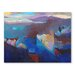 Americanflat Anti Atlas Greys Art Print Wrapped on Canvas
