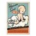 Americanflat Heaven Sent Boy Vintage Advertisement
