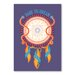 Americanflat Dreamcatcher Graphic Art Wrapped on Canvas