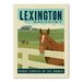 Americanflat Asa Lexingtonky Vintage Advertisement Wrapped on Canvas