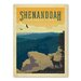 Americanflat Asa National Park Shenandoah Vintage Advertisement