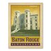 Americanflat Asa Baton Rouge Vintage Advertisement