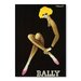 Americanflat Bally Graphic Art Wrapped on Canvas