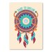 Americanflat Dream Graphic Art Wrapped on Canvas