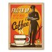 Americanflat Filler up Vintage Advertisement Wrapped on Canvas
