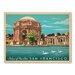 Americanflat Asa San Francisco Palace Fine Art Vintage Advertisement