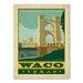 Americanflat Asa Waco Texas Vintage Advertisement