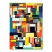 Americanflat The City I Live in Graphic Art Wrapped on Canvas