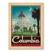 Americanflat Asa Columbia Vintage Advertisement Wrapped on Canvas