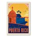 Americanflat Puerto Rico Vintage Advertisement Wrapped on Canvas