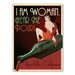 Americanflat Asa I Am Woman Napa Vintage Advertisement