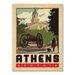 Americanflat Asa Athens Vintage Advertisement