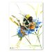 Americanflat 'Flower Bee' by Suren Nersisyan Painting Print on Wrapped Canvas