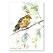 Americanflat 'Yellowhammer' by Suren Nersisyan Painting Print on Wrapped Canvas