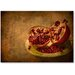 Americanflat 'Pomegranate' by Lina Kremsdorf Photographic Print on Wrapped Canvas