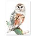 Americanflat 'Owl 2' by Suren Nersisyan Painting Print on Wrapped Canvas