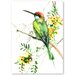 Americanflat 'Bee Eater 2' by Suren Nersisyan Art Print Wrapped on Canvas