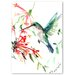 Americanflat 'Flying Humming Bird' by Suren Nersisyan Graphic Art on Wrapped Canvas