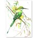 Americanflat 'Bee Eater' by Suren Nersisyan Painting Print on Wrapped Canvas