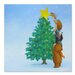 Americanflat 'Christmas Tree Star' by Advocate Art Art Print