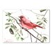Americanflat 'Summer Tanager III' by Suren Nersisyan Art Print Wrapped on Canvas