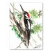 Americanflat 'Woodpecker' by Suren Nersisyan Painting Print on Wrapped Canvas