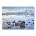 Americanflat 'Lake Snow' by Lina Kremsdorf Photographic Print Wrapped on Canvas