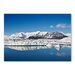 Americanflat 'Snow Mountain' by Lina Kremsdorf Photographic Print Wrapped on Canvas
