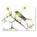 Americanflat 'Warbler II' by Suren Nersisyan Painting Print on Wrapped Canvas