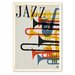 Americanflat 'Jazz Brassy 1950s' by Music Festival Vintage Advertisement on Wrapped Canvas