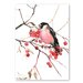 Americanflat 'Bullfinch' by Suren Nersisyan Painting Print on Wrapped Canvas