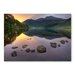 Americanflat 'Lake' by Lina Kremsdorf Photographic Print Wrapped on Canvas