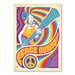 Americanflat 'Peace Convoy' by Music Festival Vintage Advertisement on Wrapped Canvas