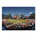 Americanflat 'Baseball Stadium' by Lina Kremsdorf Photographic Print on Wrapped Canvas