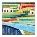 Artist Lane Farm House by Anna Blatman Art Print Wrapped on Canvas