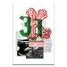 Artist Lane 31K by Steve Leadbeater Graphic Art Wrapped on Canvas