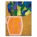 Artist Lane Orange Jug by Anna Blatman Art Print on Canvas