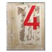 Artist Lane 4 by Steve Leadbeater Graphic Art Wrapped on Canvas in Red/Brown