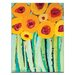 Artist Lane Yellow Poppies by Anna Blatman Art Print Wrapped on Canvas