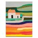 Artist Lane Country House by Anna Blatman Art Print Wrapped on Canvas
