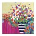 Artist Lane Florist Haven by Catherine Fitzgerald Art Print Wrapped on Canvas
