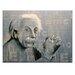 Artist Lane Eintein E=mc2 by Coco Graphic Art on Canvas in Blue